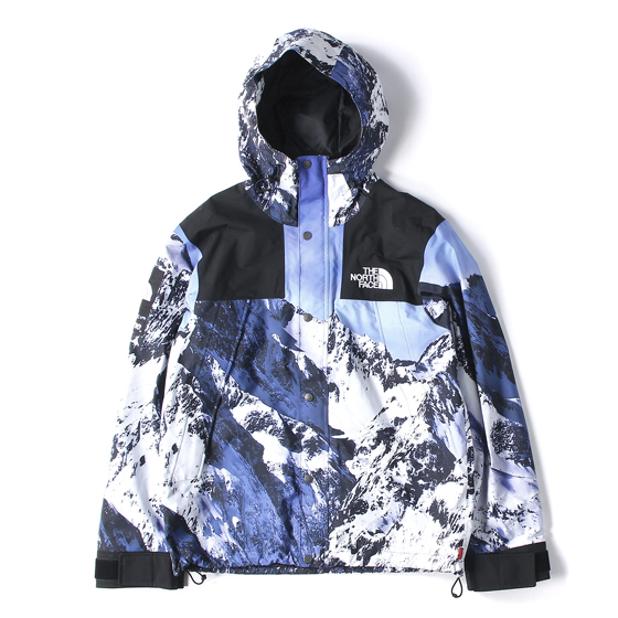 17AW ×THE NORTH FACE 雪山柄マウンテンパーカー(Mountain Parka)