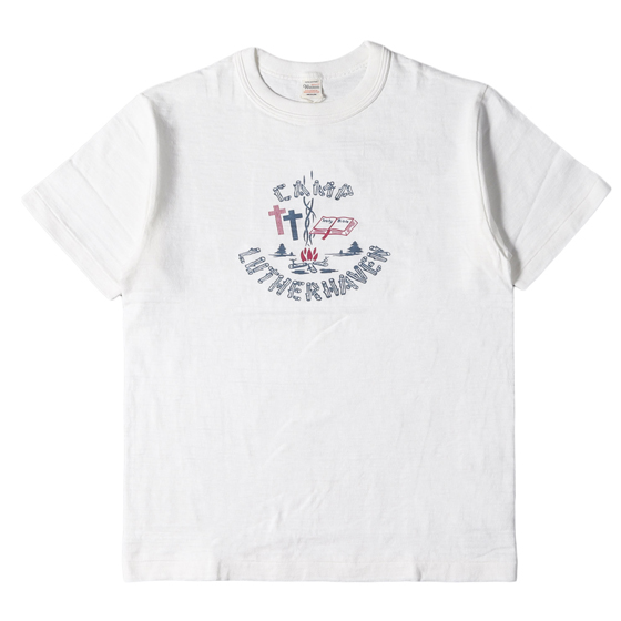 DC SHOES Olds Cool DC x Mark Ward collaboration White T Shirt