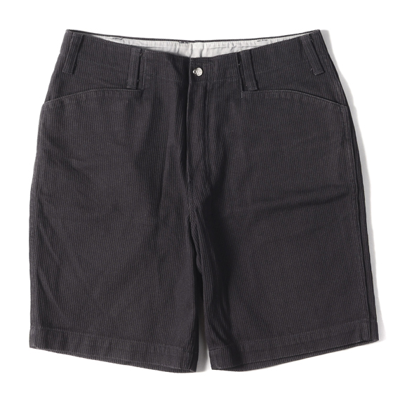 19SS ウォッシュ加工ピケフリスコワークショーツ(T-BDP PIQUE SHORTS WASH)