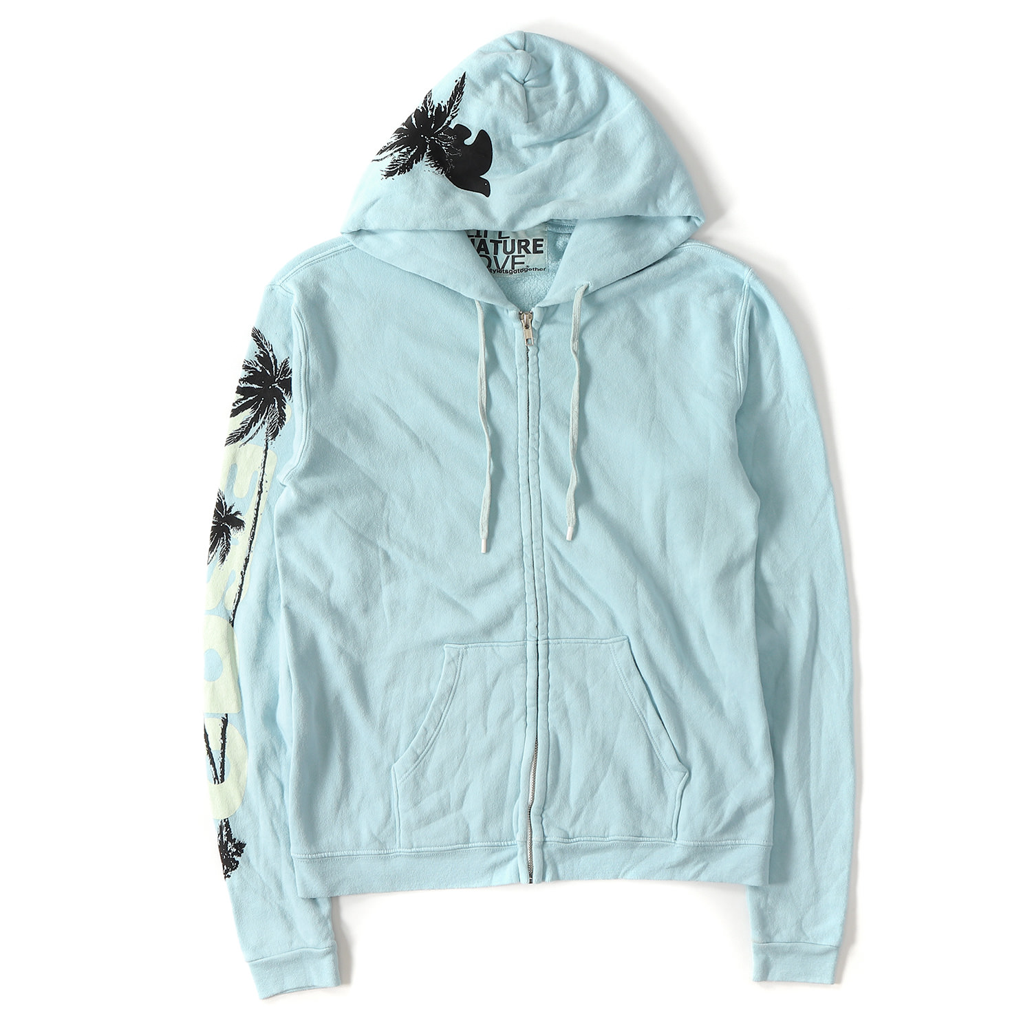 Vintage Feathers Blowing in The Wind Graphic Hoodie for Men