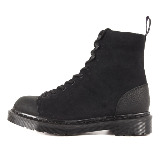 19AW ×Dr.Martens スウェードレザーブーツ(パープルレーベル / 9 Tie Boot)