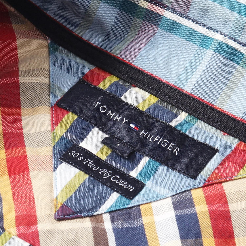 Tommy Hilfiger Boys Short Sleeves Goa Plaid Shirt