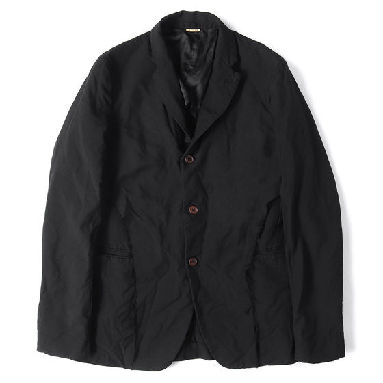 19S/S 製品染めポリエステル3Bテーラードジャケット COMME des GARCONS HOMME DEUX