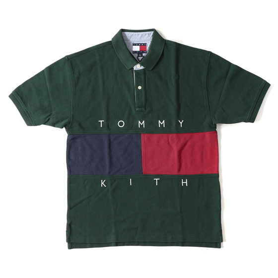 18A/W ×TOMMY HILFIGER フラッグ鹿の子ポロシャツ(TH Flag S/S Polo)