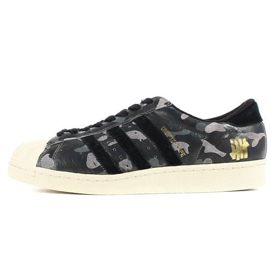 ×adidas ×UNDEFEATED SUPER STAR 80v UNDFTD BAPE (S74774)