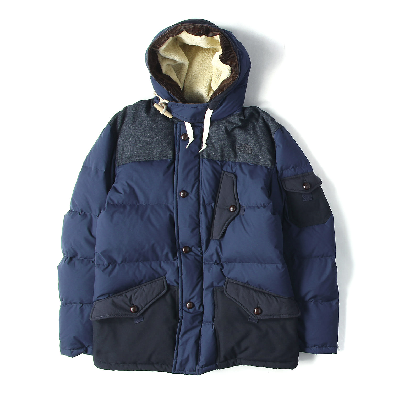 17A/W ×THE NORTH FACE GORE WINDSTOPPER N-3Bタイプナイロンフライトダウンコート