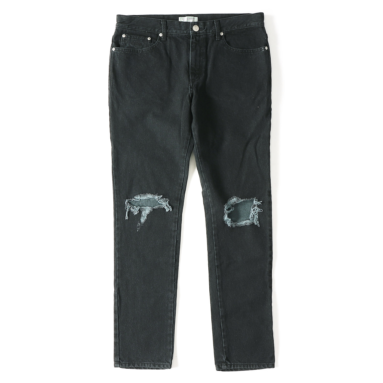 17A/W ダメージ加工スキニーデニム(GREEN LABEL SKINNY DAMAGE DENIM)