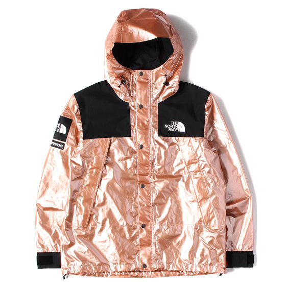 18S/S ×THE NORTH FACE メタリックマウンテンパーカー Metallic Mountain Parka