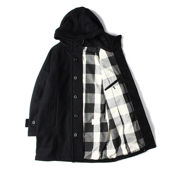 16AW GOREWINDSTOPPER メルトンウールコート(TOURIST HOODED COAT MELTON)