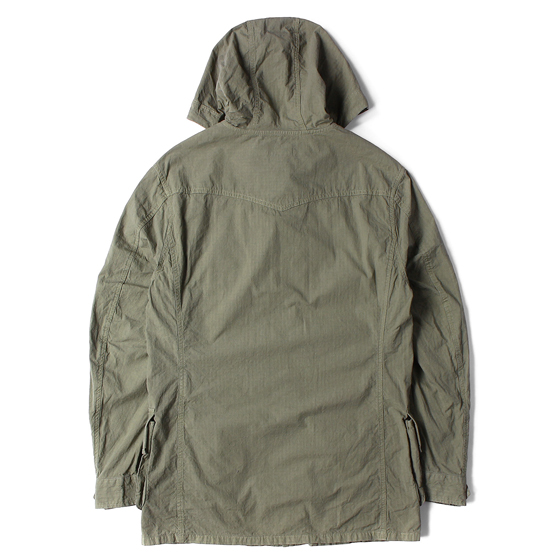 16SS ミリタリーフードジャケット(TROOPER HOODED JACKET COTTON RIPSTOP)