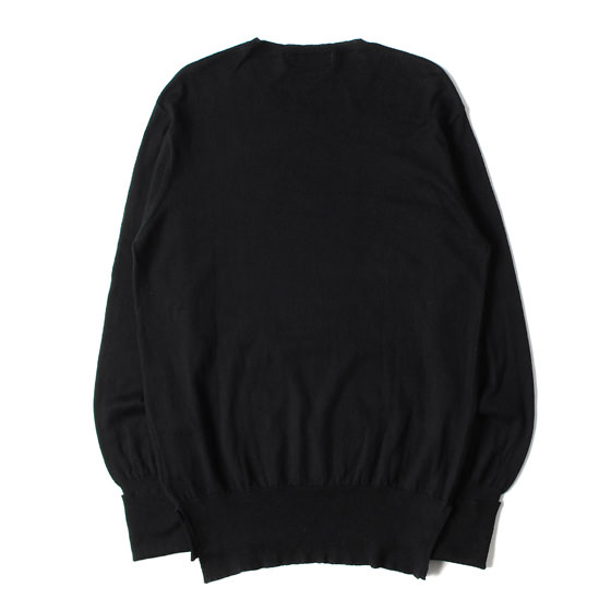 GIZAコットンハイゲージニットセーター(DWELLER SWEATER GIZA 45 COTTON SOLID)