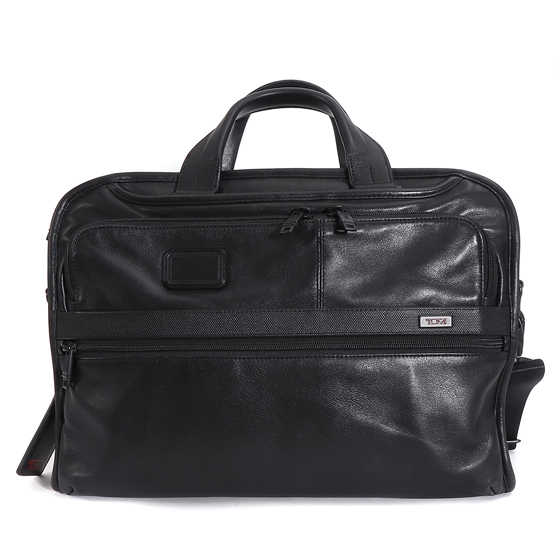 2WAY仕様レザーブリーフケース 96108 D2 ALPHA 2 LEATHER ORGANIZER PORTFOL