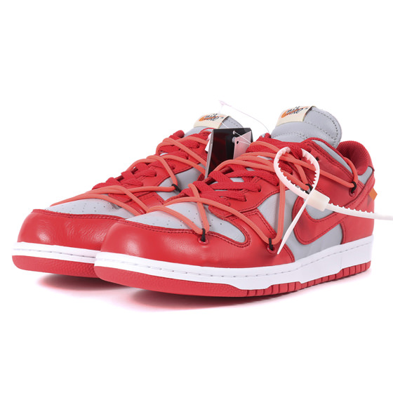 19AW ×NIKE DUNK LOW LTHR / OW (CT0856-600)