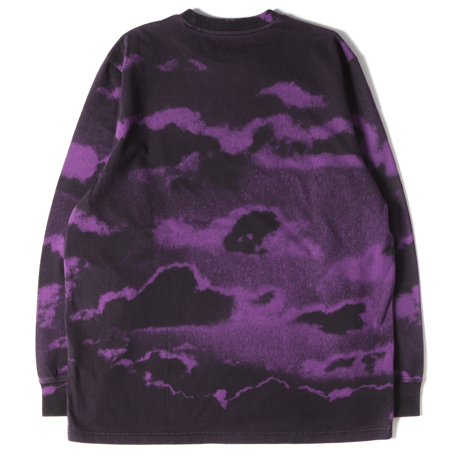 19SS 全面クラウドプリントロングスリーブTシャツ / トップ(Clouds L/S Top)