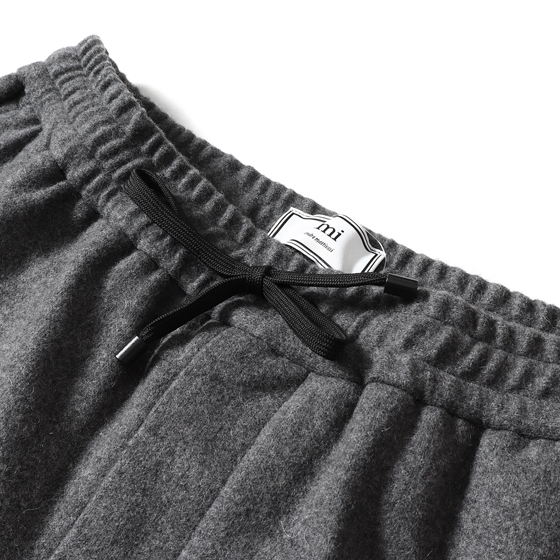 17AW キャロットフィットイージーパンツ(ELASTICISED WAIST CARROT FIT TROUSERS)