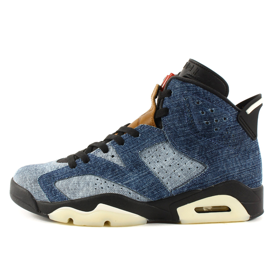 AIR JORDAN 6 RETRO WASHED DENIM (CT5350-401)