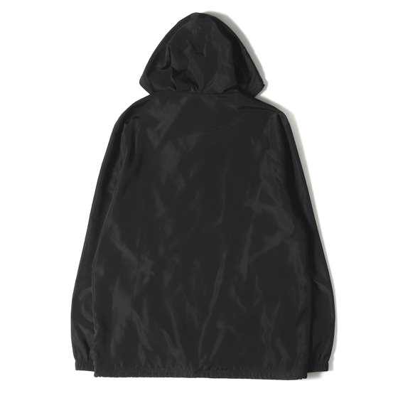 17SS フード付きコーチジャケット(Vertical Logo Hooded Coaches Jacket)