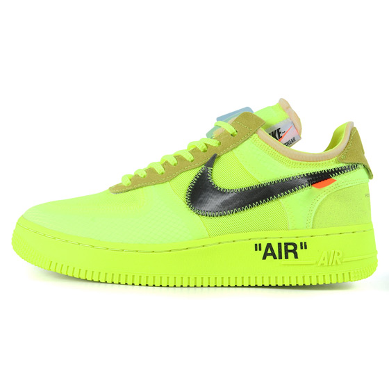 """OFF-WHITE""らしい世界観漂う「18AW ×NIKE THE 10 : AIR FORCE 1 LOW 」入荷"