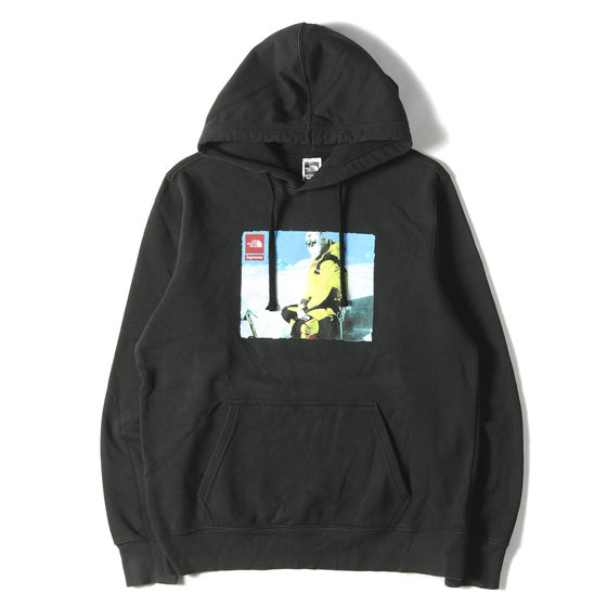 18AW ×THE NORTH FACE フォトプリントスウェットパーカー(Pullover Hoodie)
