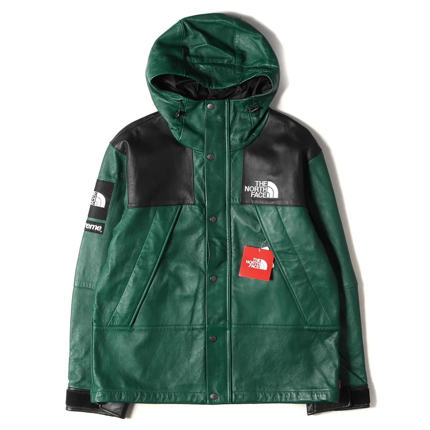 18AW ×THE NORTH FACE レザーマウンテンパーカー(Leather Mountain Parka)