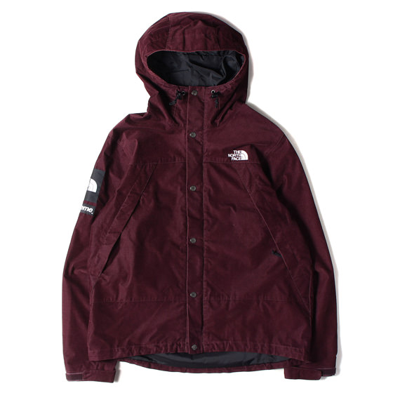 12AW ×THE NORTH FACE コーデュロイマウンテンパーカー(Mountain shell Jacket)