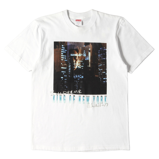 19SS ×King of New York フォトプリントTシャツ(Christopher Walken Tee)