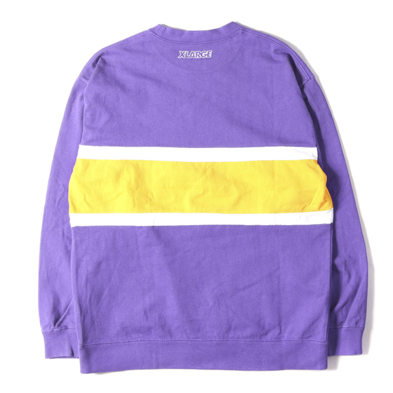 18AW ×Champion ロゴ刺繍スウェット(EMBROIDERY LOGO LINED CREW NECK)