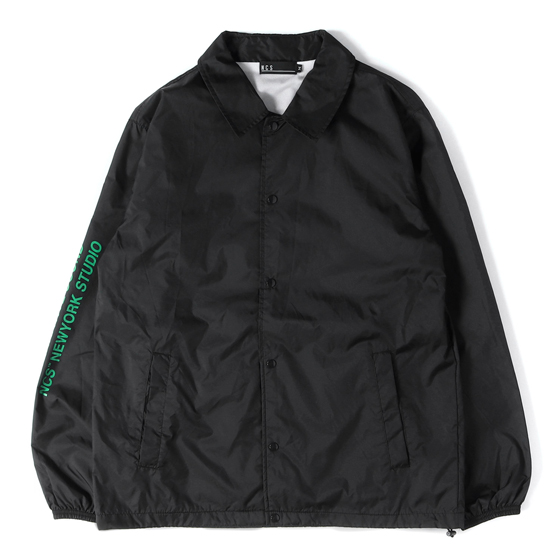17A/W ソニック・ユースフォトプリントナイロンコーチジャケット(SY COACH JACKET)