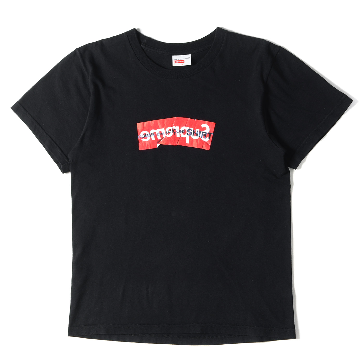 17SS ×COMME des GARCONS SHIRT BOXロゴTシャツ(Box Logo Tee)