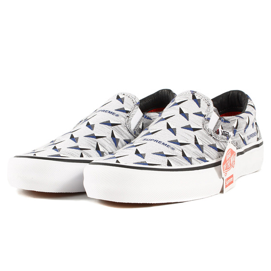 19SS ×VANS Slip-On Pro Diamond Plate