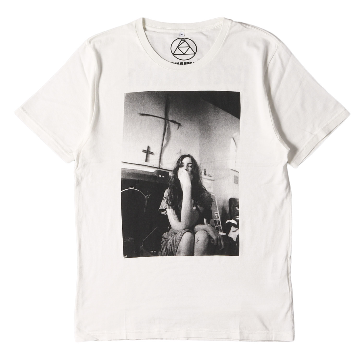 "×HYSTERIC GLAMOUR ""PATTI SMITH""フォトプリントTシャツ 日本製"