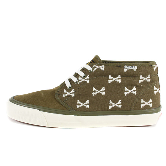 16SS ×VANS VAULT  OG CHUKKA BOOT LX CROSS BONE