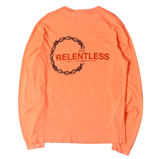 18A/W バーブワイヤーロングスリーブTシャツ(RELENTLESS COLLECTION TEE L/S)
