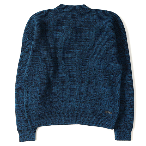 17A/W ヘザーワイドクルーネックニット(COLOR HEATHER WIDE CREW NECK KNIT)