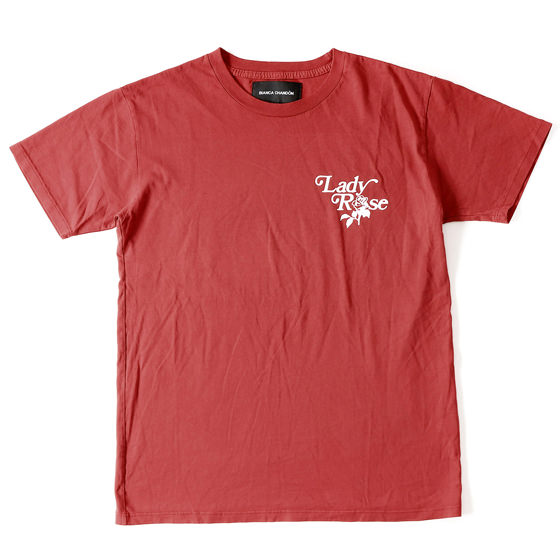 16S/S Lady RoseロゴTシャツ(Lady Rose T-Shirt)