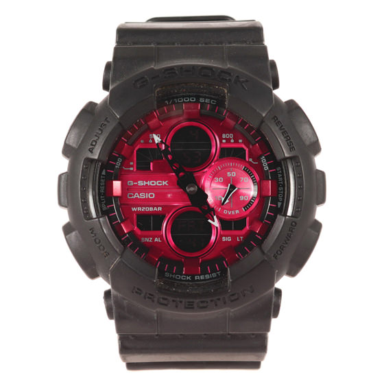 GA-140AR-1AJF Black and Red Series 腕時計/ウォッチ