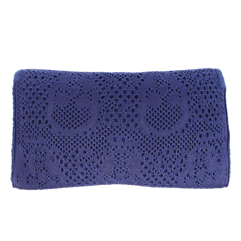 Fabio Silk Tie Necktie Black Royal Cobalt Blue Candy  Stripe