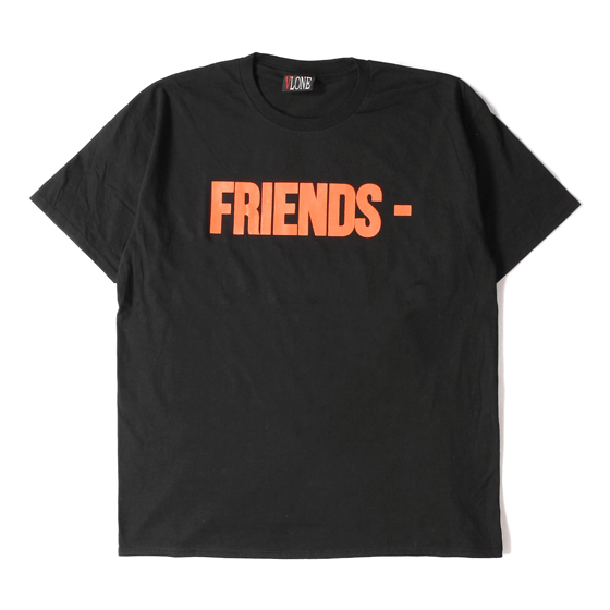 FRIENDSロゴTシャツ(VLONE FRIENDS TEE)