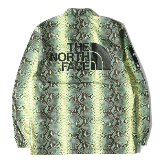 18SS ×THE NORTH FACE スネーク柄コーチジャケット(Snake Coaches Jacket)