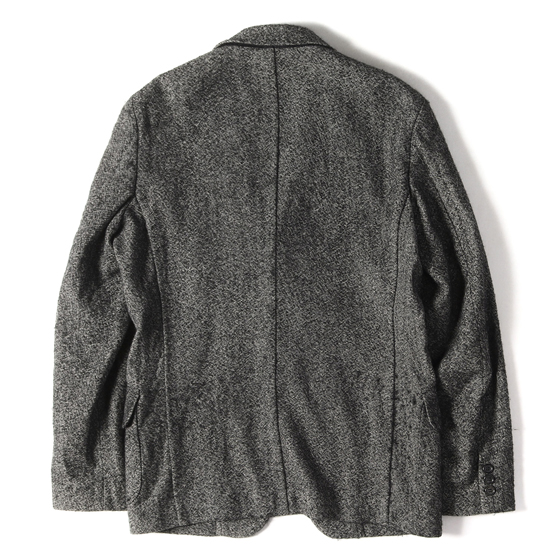 10A/W 製品洗い加工ウール段返り3Bテーラードジャケット COMME des GARCONS HOMME DEUX