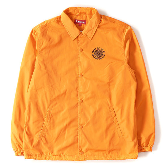 18S/S ×Spitfire イラストグラフィックコーチジャケット(Coaches Jacket)