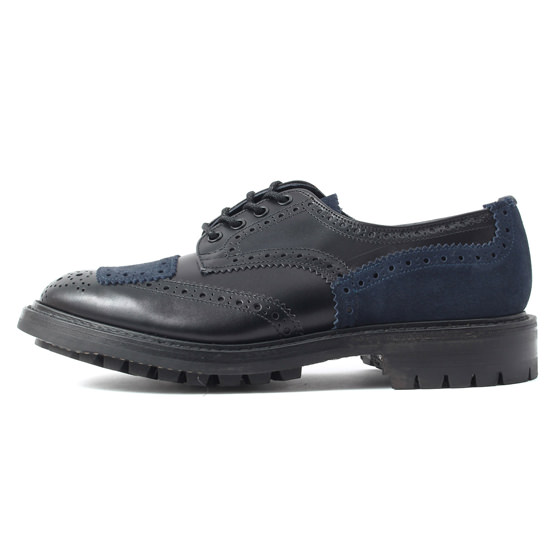 ×ADPOSION バイカーメダリオンチップシューズ(Biker Full Brogue Derby Shoes)