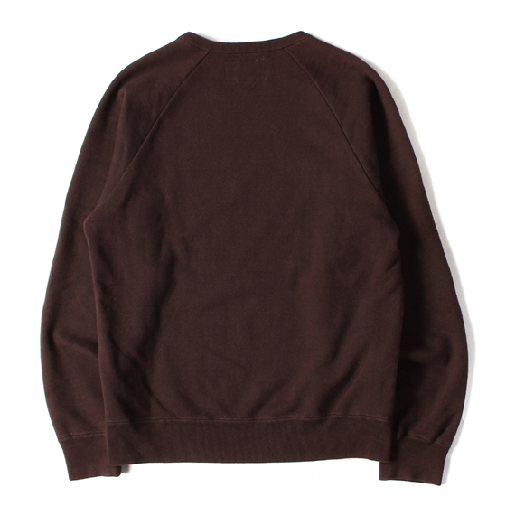 18AW ROCKERSロゴヘビースウェット(WASHED HEAVY WEIGHT CREW NECK SWEAT)