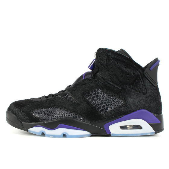 AIR JORDAN 6 RETRO SP Black and Dark Concord (AR2257-005)