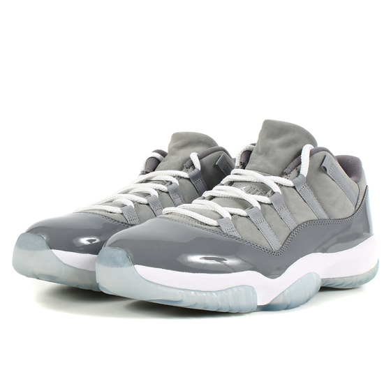 AIR JORDAN 11 RETRO LOW COOL GREY (528895-003)