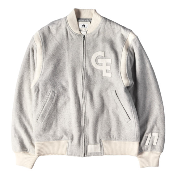 97A/W READYMADE限定 ×ELECTRIC COTTAGE GEワッペンメルトンスタジャン(3rdモデル)