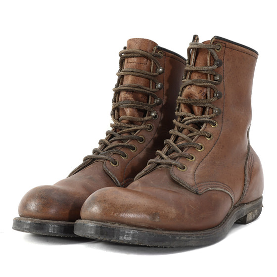 90's 957 ラギッドワークブーツ(RUGGED WORK BOOT 8inch/プリント羽タグ)