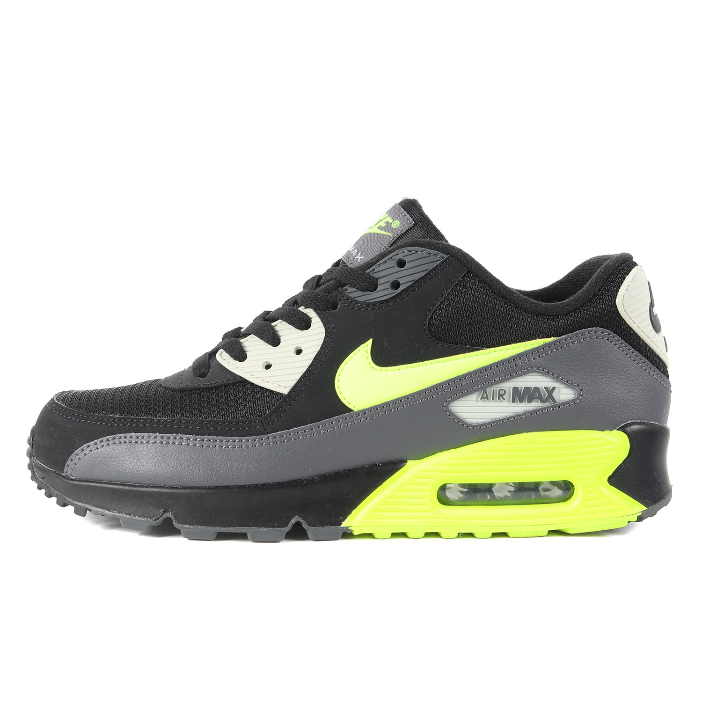 NIKE Mens Nike Air Max 90 Essential in Light Bone Trainer White AJ1285 014
