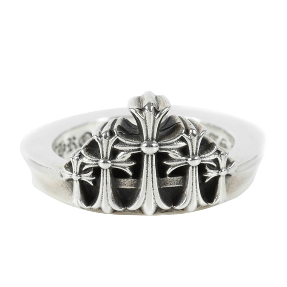 """CHROME HEARTS""ファン必見!「クラウンCHクロスリング(CROWN CH CRS)」入荷"